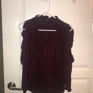 Jessica Simpson cold shoulder shirt